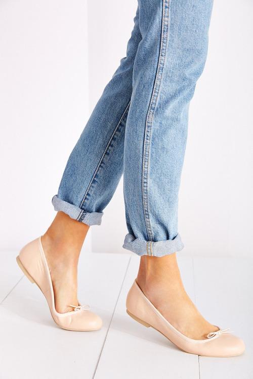 обувь в базовом гардеробе, балетки