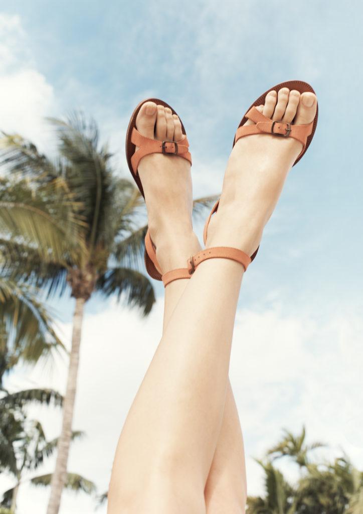 Обувь в базовом гардеробе, сандалии