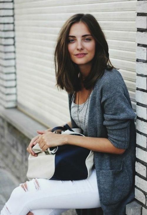 кардиган, минималистичный летний гардероб