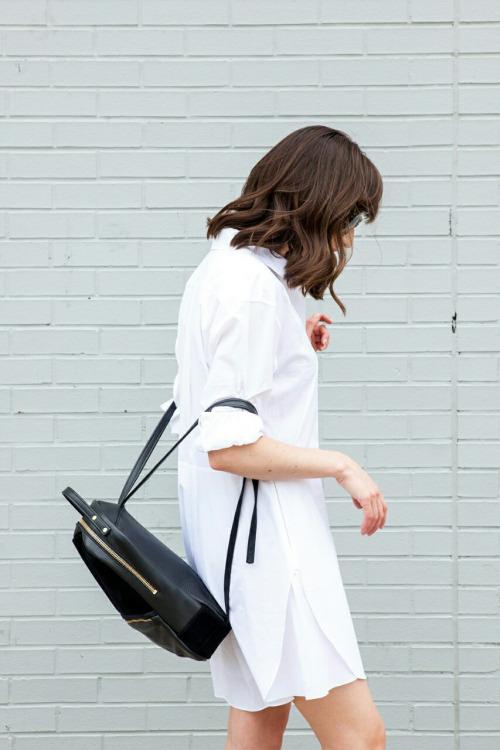 белое платье, летнее платье, минималистичный гардероб