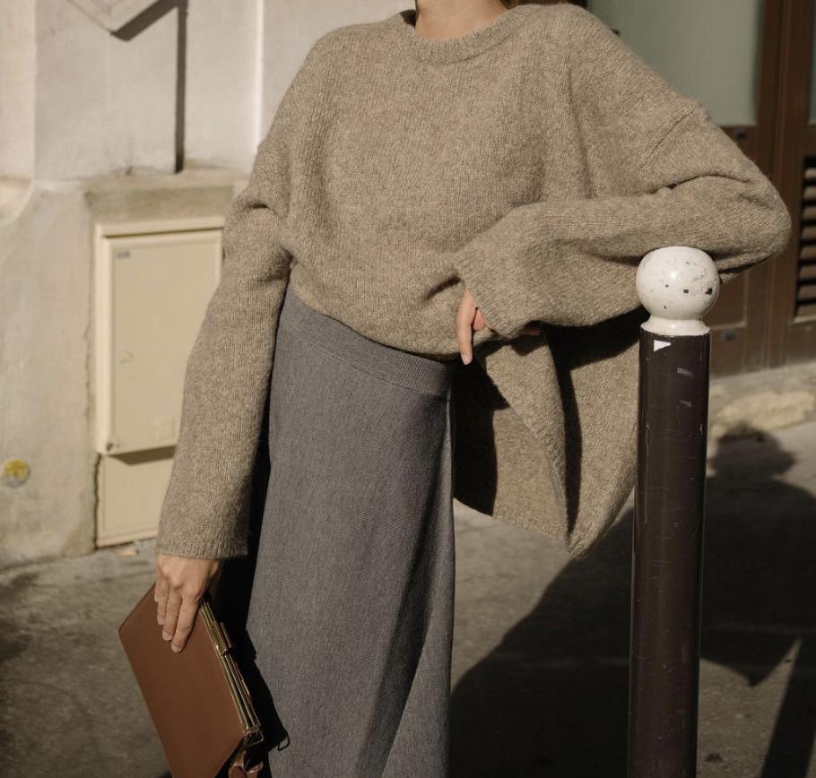 Парижский гардероб, базовый гардероба, Виктория Лунина. Кашемир.