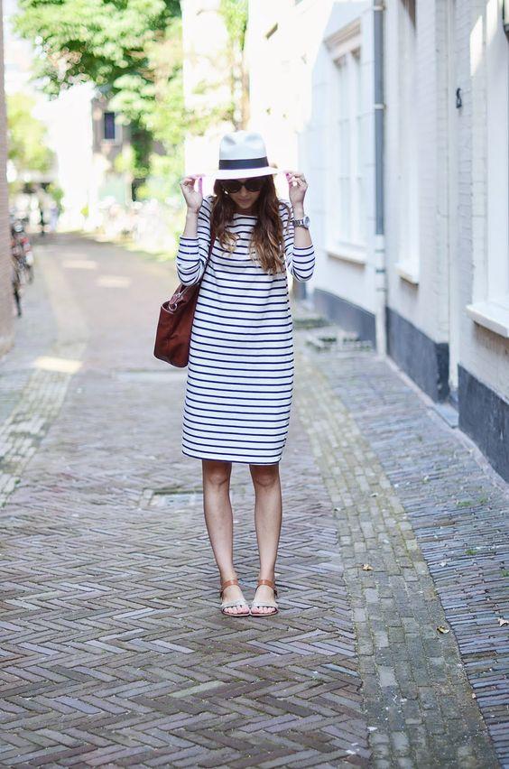 платье в полоску, breton stripe