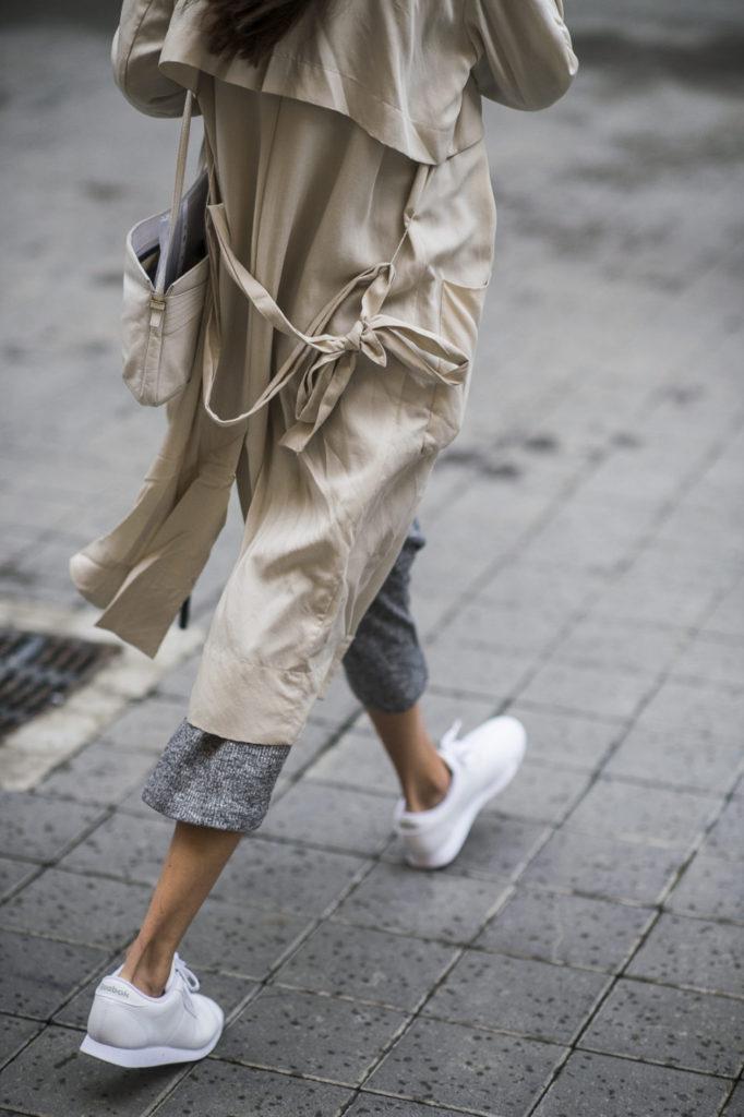 тренч, парижский базовый гардероб