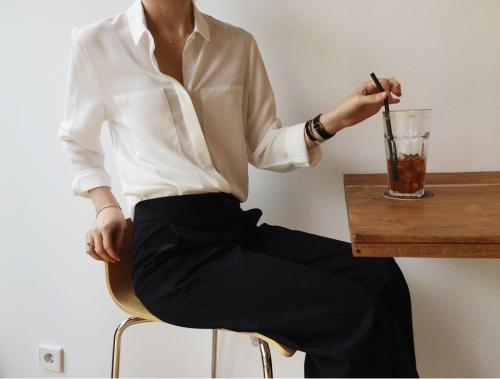 белая рубашка, белая блузка