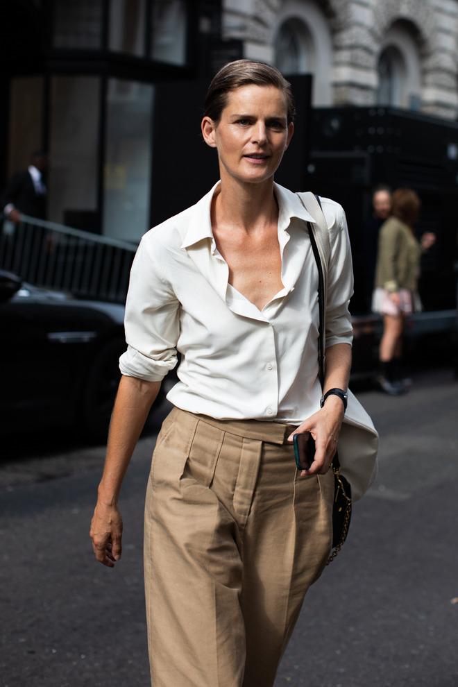 Парижский гардероб, базовый гардероба, Виктория Лунина. Белая рубашка.