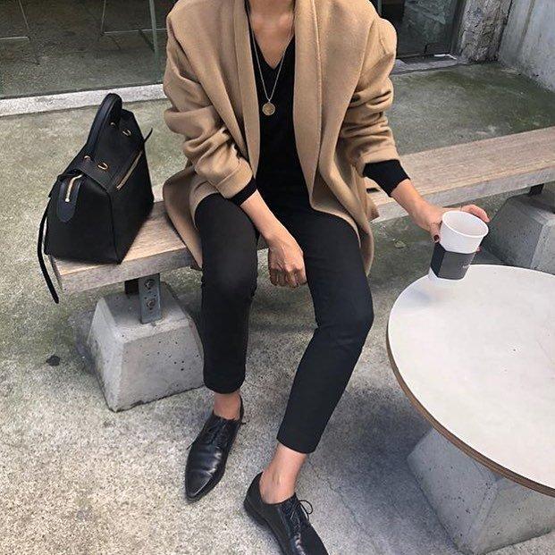 Парижский гардероб, базовый гардероба, Виктория Лунина. Узкие брюки.