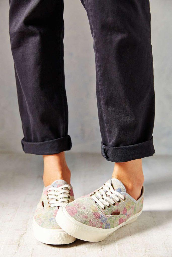vans, базовый гаредроб, обувь