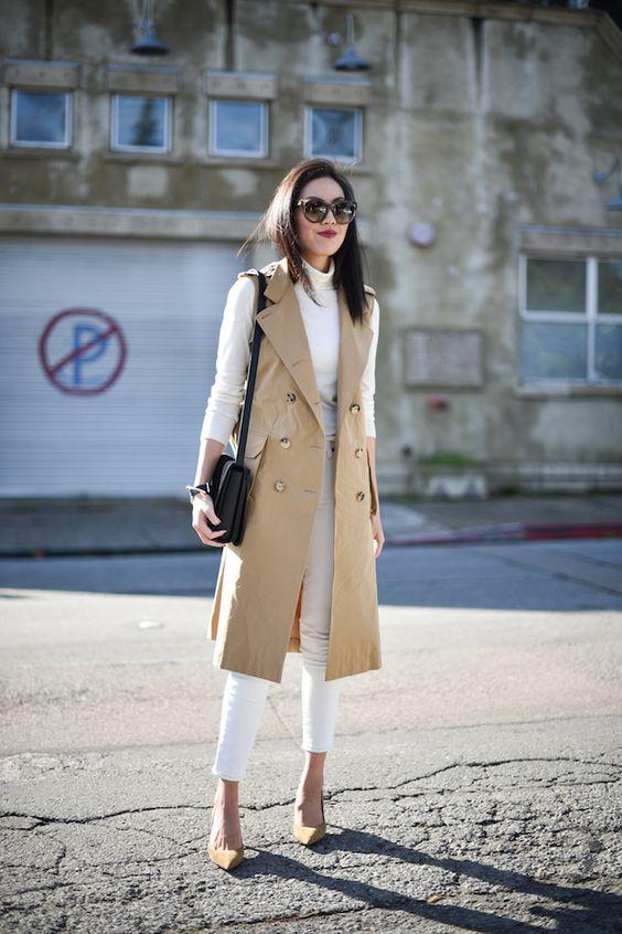 тренч, длинный женский тренч, trench coat