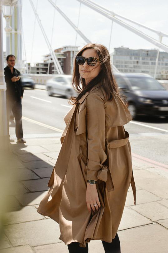 женский тренч, trench coat