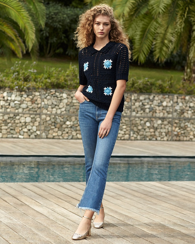 Весна-лето 2018, тренды, французские бренды, Claudie Pierlot